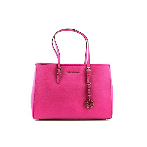 Michael Kors Jet Set Travel Large Fuschia Tote