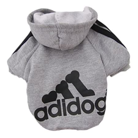 083edcff21af Dog Clothes to Keep Warm Clothes Cotton Adidog T-shirt for Dogs in ...