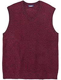 Men's Big & Tall Shaker Knit V-Neck Sweater Vest