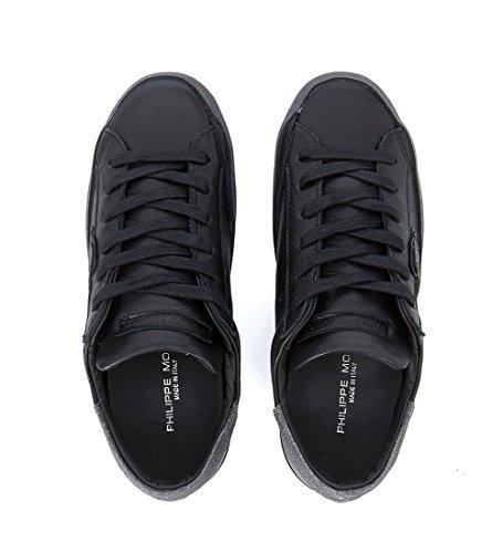 Glitter Model Sneaker E Paris Nera Philippe Pelle Nero C6xXZqqw