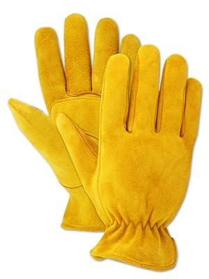 Magid Men's Pro Grade Collection Premium Suede Deerskin Gloves