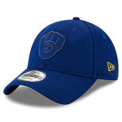 Milwaukee Brewers 2019 Clubhouse Collection 9TWENTY Adjustable Hat