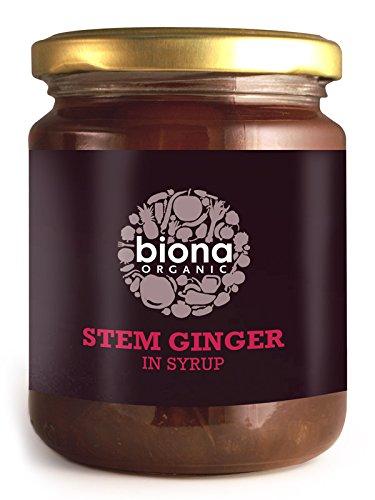 Biona Organic - Stem Ginger in Syrup - 330g