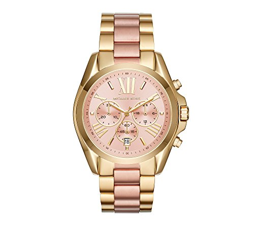 Michael Kors Bradshaw Two-Tone Stainless Steel Watch