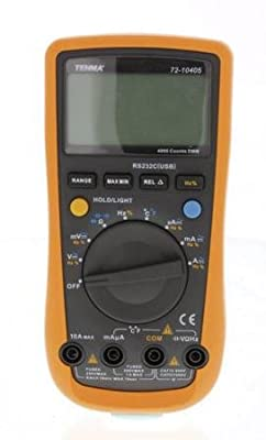 Tenma 72-10405 Professional Digital Multimeter with 4000 Count Display