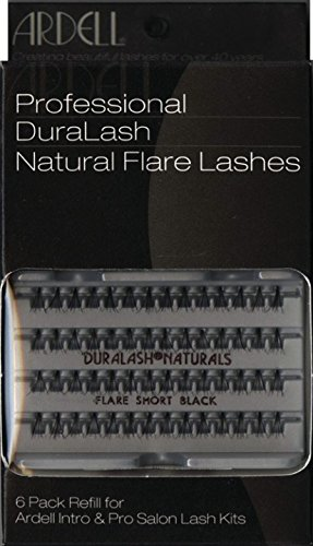 Ardell Professional Individual Lashes Duralash Naturals SHORT Lashes 6 Pack Refills