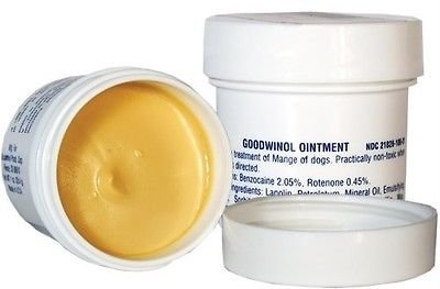 Goodwinol Ointment for the treatment of demodectic and follicular mange of dogs (1oz.) by Goodwinol
