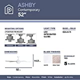 Prominence Home 80094-01 Ashby Ceiling Fan with