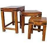 Sheesham Hardwood Nest Of Tables