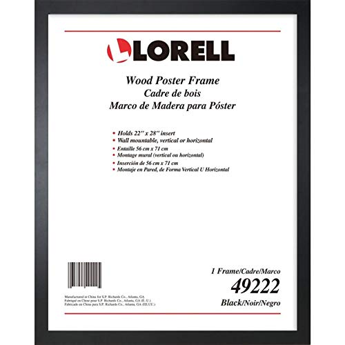 Lorell Solid Wood Poster Frame, 22'' x 28'' (49222) by Lorell