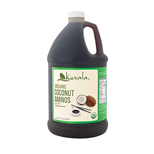 - Kevala Organic Coconut Aminos 1/2 Gal