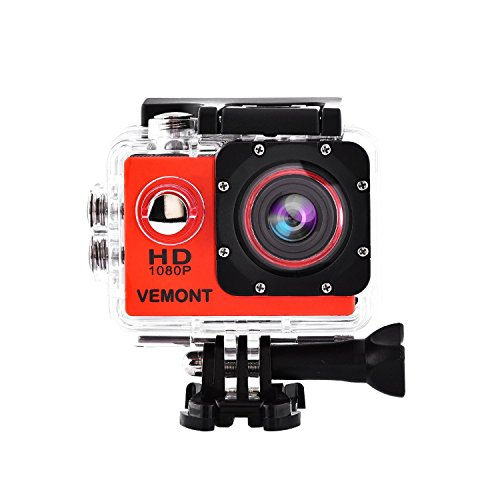 720P Hd Sports Camera With Waterproof Case - 9