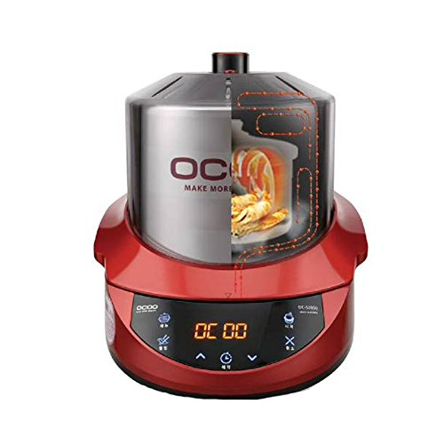 Ocoo Smart OC-S1000 Cooker Herb Extractor All-in-one Cardron Double Boiler Ginseng Cooking Machine Quick English Guide & Free gife(Key Ring) by OCOO (Image #2)