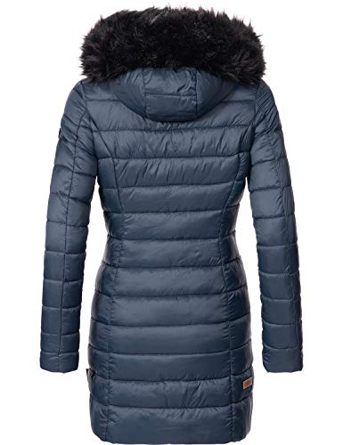 xxl Invierno Marikoo Colores Xs Azul Abrigo Mujer De 13 Para Rose qqtZzxPwH