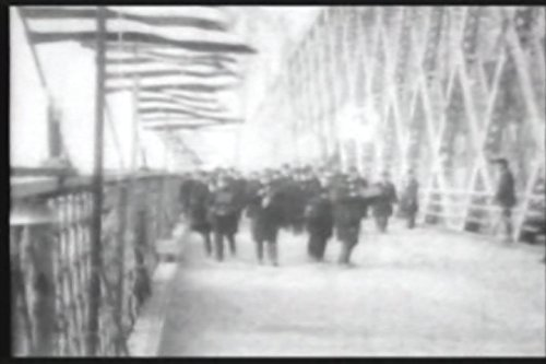 Opening the Williamsburg Bridge