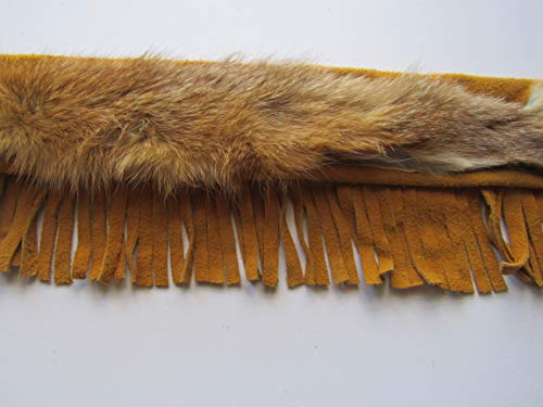 Pipe Leather Bag Fringed Flute Bag Coyote Fur Bag Tribal Pow Wow Rendezvous Native Inspired