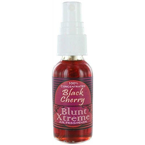 Black Cherry Scent Oil (Blunt Xtreme Ultimate Black Cherry Type Air Freshener - 100% Ultra Concentrated Oil Based Spray - Ideal For Bathroom, Home, & Car More - Smokers' 1st Choice - Long Lasting Effects - 1oz Bottle)