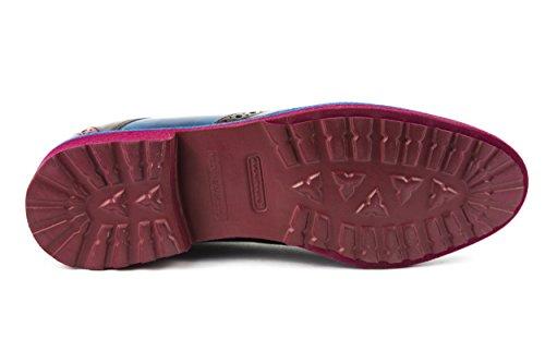 Melvin & Hamilton - Zapatos de cordones de charol para mujer multicolor multicolor 37