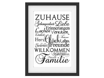Zu Hause amazon de shabby druck kunstdruck zuhause vintage print