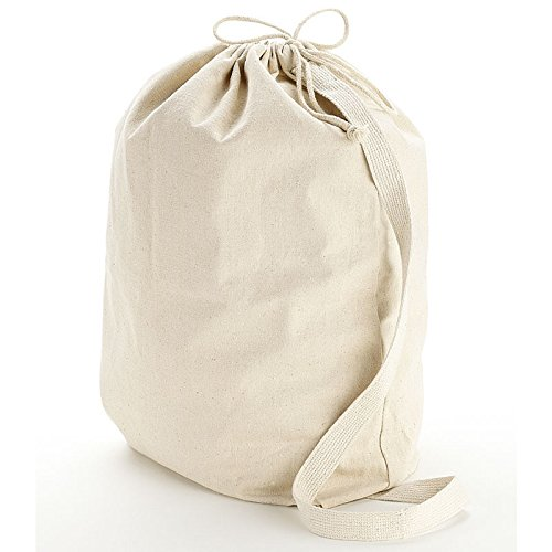 Canvas Laundry Bags With Strap - 7