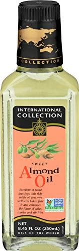 International Collection Sweet Almond Oil, 8.45-Ounces (Pack of 3)