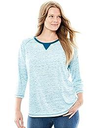Amazon.com: Plus Size - Fashion Hoodies & Sweatshirts / Clothing ...
