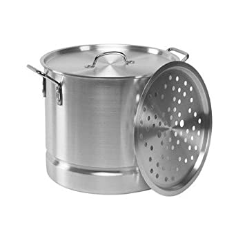 IMUSA Tamale/marisco - Vaporera aluminio (20 qt.): Amazon.es: Hogar