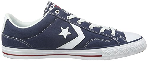 Sneaker Navy adulto Adulte Player Core 410 Converse Ox Star Unisex Canvas Blu WRwg8Yv6q