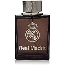 Real Madrid Black EDT Spray for Men, 3.4 Ounce