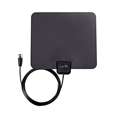 DuaFire Digital Ultra-Thin Indoor HDTV Antenna