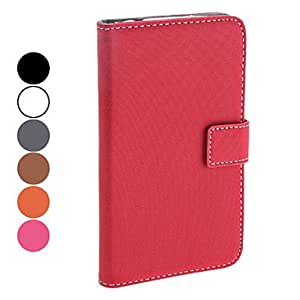 Protective PU Leather Case with Stand and Card Slot for Samsung Galaxy Note 2 N7100 (Assorted Colors) --- COLOR:Gray