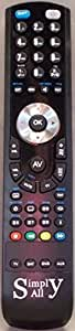 Philips 32PFL7603D/10 Reemplazo mando a distancia