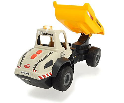 Dickie Toys Light and Sound Construction Dump Truck (Truck Sound Monster)