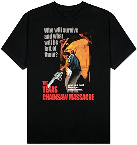 Adult Texas Chainsaw (Texas Chainsaw Massacre -- Bizarre & Brutal Crimes! -- adult tee)