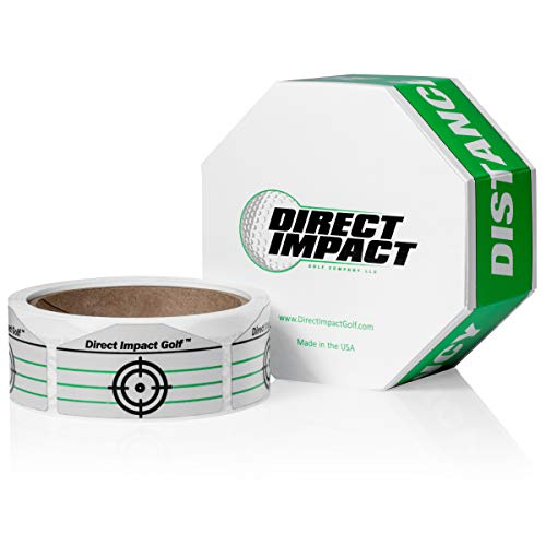 Direct Impact Golf Golf Impact Tape Roll of 225 Iron Labels (Best Golf Club Labels)