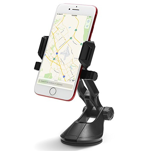 (Spigen Kuel TS36 OneTap Car Phone Mount Universal Car Phone Holder Compatible with Most Smartphones)