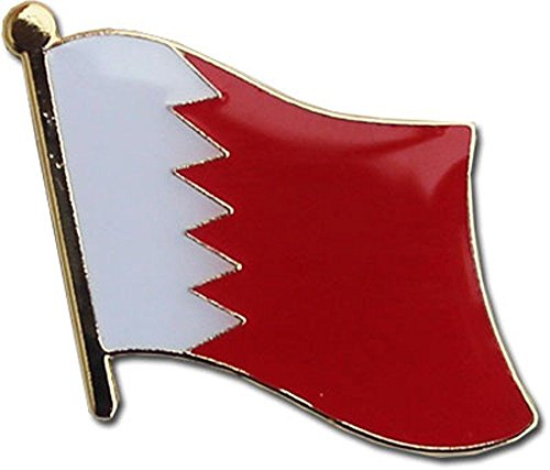 (ALBATROS Pack of 24 Bahrain Country Flag Lapel Pin for Bike Hat and Cap for Home and Parades, Official Party, All Weather Indoors Outdoors)
