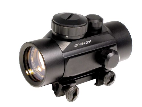 Soft Air Swiss Arms Soft Air Metal Red Dot Sight, Black