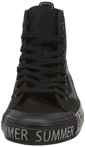 Vans Dazie-hi, Women's High-Top Sneakers Black (Summer Bummer/Reflective/Black)