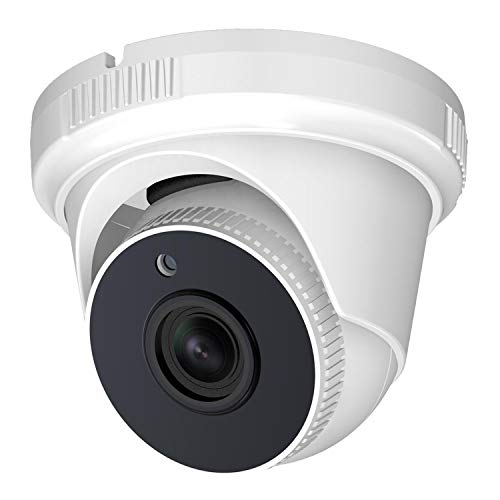 Dome Security Camera 1080P HD 4-in-1 (HD-TVI/CVI/AHD/Analog), Analog CCTV Camera 2MP 1920×1080, 65ft Night Vision, 3.6mm Lens