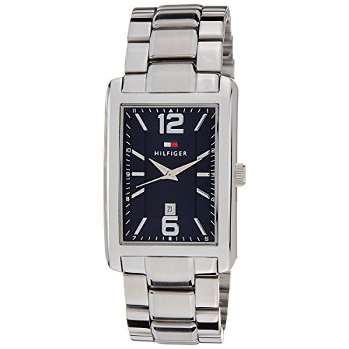 Tommy Hilfiger Three-Hand Silver-Tone Stainless Steel Men's watch #1791075