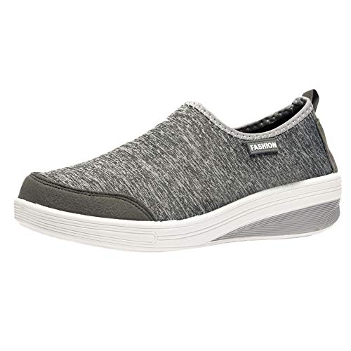 Londony ♪✿ Clearance Sales,Women's Lightweight Casual Slip-On Walking Athletic Sport Shoe Breathable Sneakers -