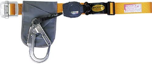 安全帯(一本吊り用) 大口径フック・軽量タイプ SL505YL