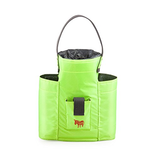 Bike Bag Lady Green Cool & Convenient Wine Bottle Carrier Bags by Donkey