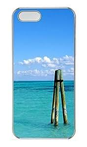 iPhone 5 5S Case Caribbean Poles PC Custom iPhone 5 5S Case Cover Transparent