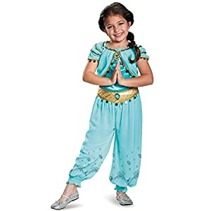 Disguise Jasmine Prestige Disney Princess Aladdin Costume - 4109hHIqTRL - Disguise Jasmine Prestige Disney Princess Aladdin Costume