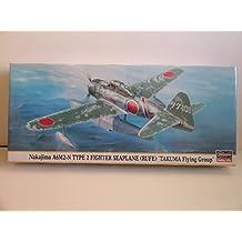 """Hasegawa Models---Japanese WW II Nakajima A6M2-N Seaplane """"Rufe""""--Plastic Model Kit"""