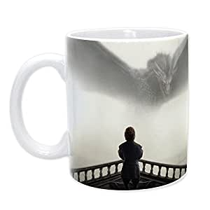 ABYstyle abymug187Tyrion y Dragon Taza Game of Thrones Porcelana, 320ML, Multicolor
