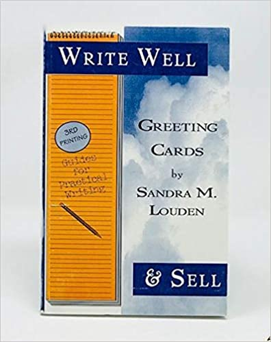 Write Well Sell Greeting Cards Sandra M Louden 9781892356000 Amazon Books