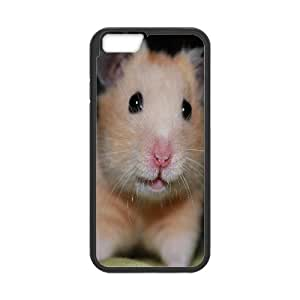 IPhone 6 Plus Cases Cute Hamster for Women Protective, Case Iphone 6 Plus Case Jackalondon, [Black]